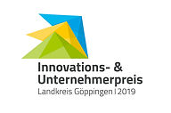 Logo Innovations- und Unternehmerpreis Göppingen