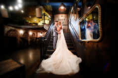 Wedding Staircase Adelaide Photography