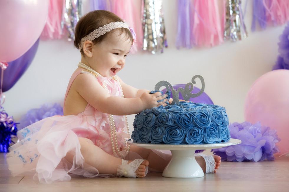 girls Cake smash Adelaide
