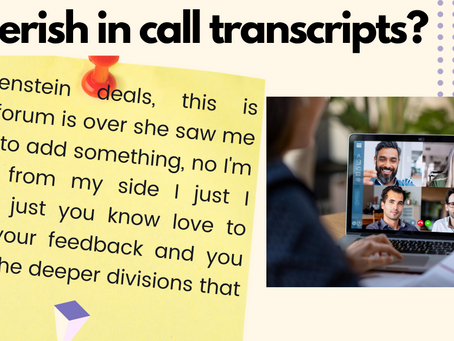 Remote work? Using voice to text transcription tools for conference calls?