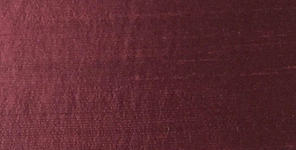 Solid Silk Burgundy