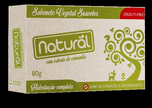 Sabonete Natural Camomila 80g