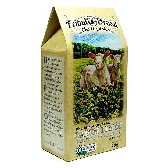Chá Capim Limão com Melissa e Maracujá Orgânico - Granel