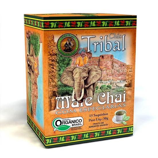 Chá Mate Chai Orgânico - Caixa com 15 sachês