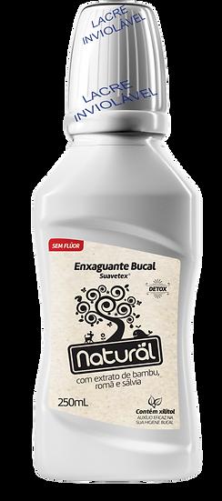 Enxaguante Bucal Natural Sem Flúor Detox 250ml