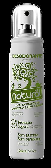 Desodorante Natural Camomila e Erva Cidreira 120ml