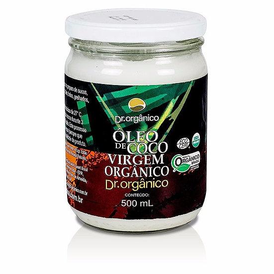 Óleo de Coco Virgem Orgânico 500ml