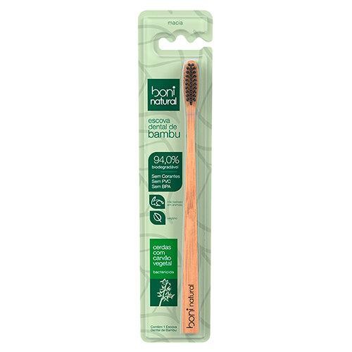 Escova Dental Natural de Bambu