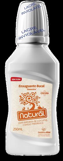 Enxaguante Bucal Natural Sem Flúor Cúrcuma 250ml