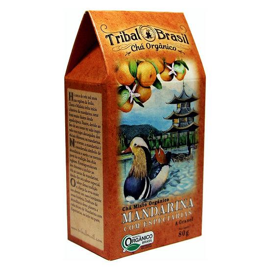 Chá Mate com Mandarina e Especiarias Orgânico - Granel