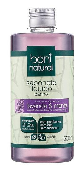 Sabonete Líquido Banho Natural Lavanda e Menta 500ml
