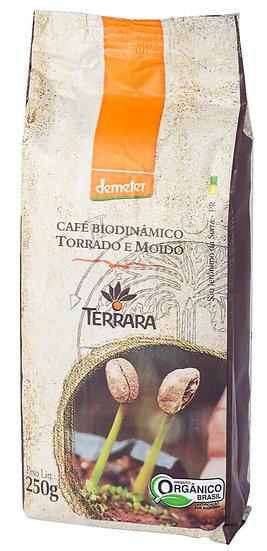 Café Torrado Moído Orgânico Biodinâmico 250g