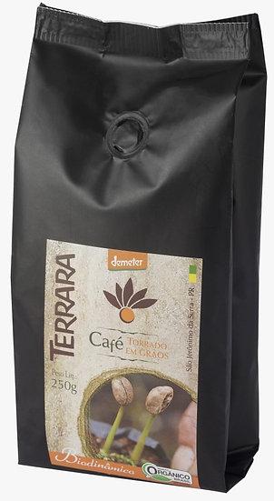 Café Torrado em Grãos Orgânico Biodinâmico 250g