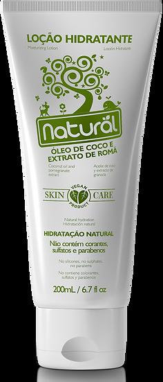 Hidratante Natural Óleo de Coco e Romã 200ml