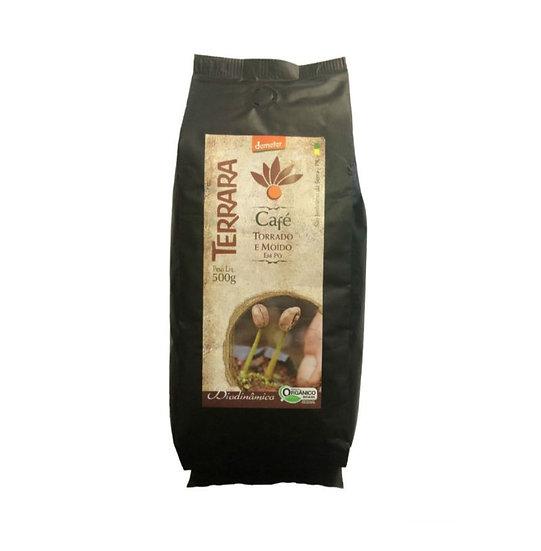 Café Torrado Moído Orgânico Biodinâmico 500g