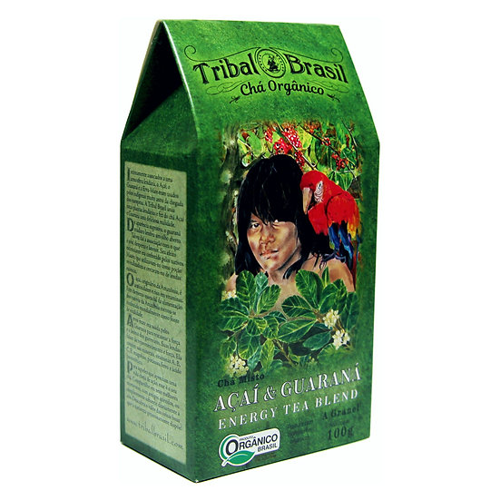 Chá Mate com Açaí & Guaraná Orgânico - Granel