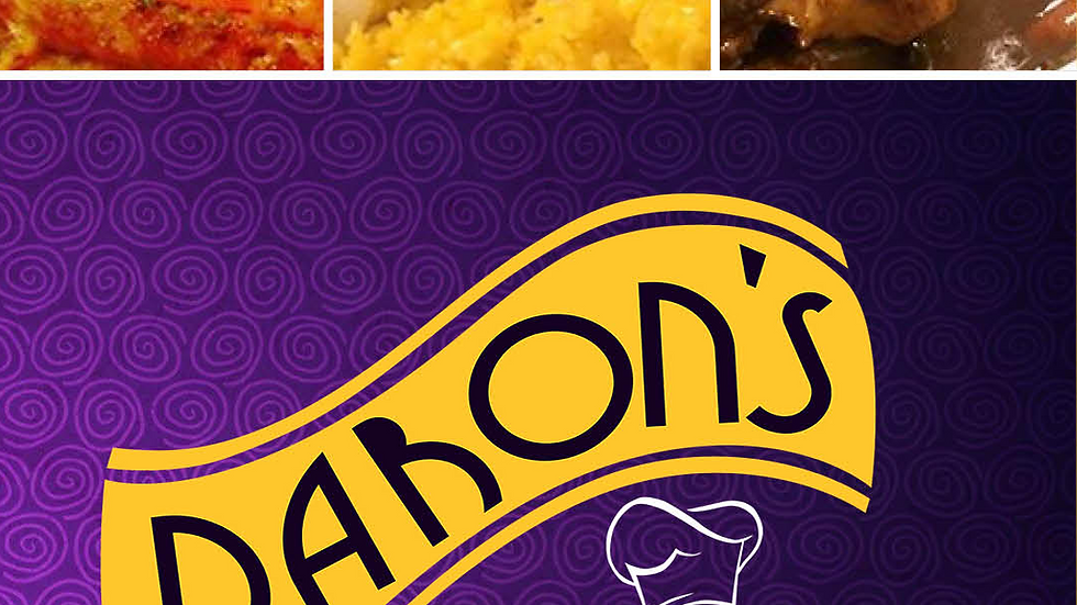 Daron's Soul Food Catering Brochure