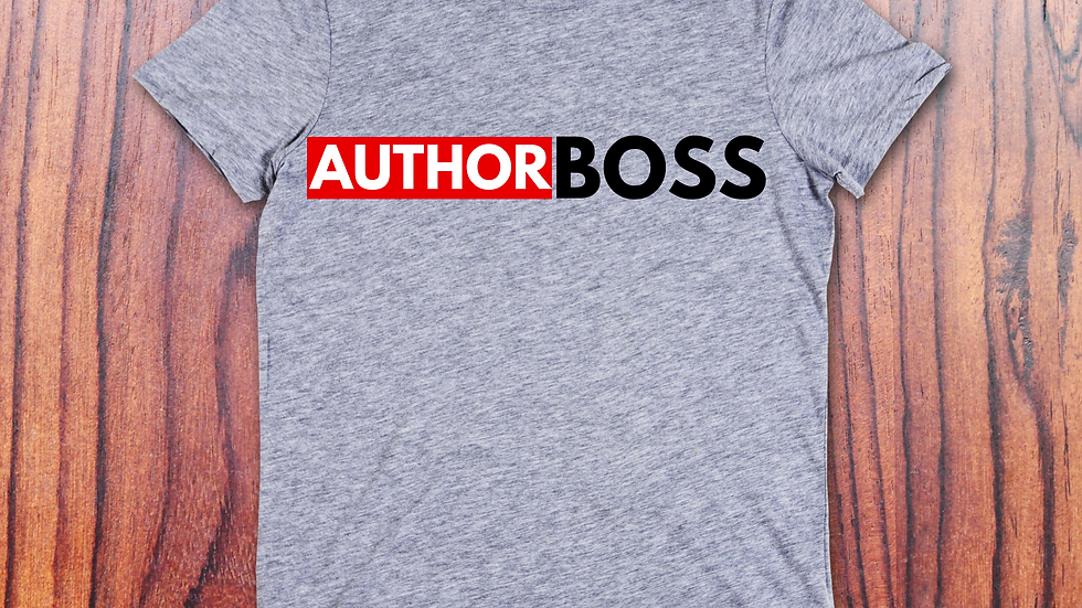 Author Boss T-Shirt