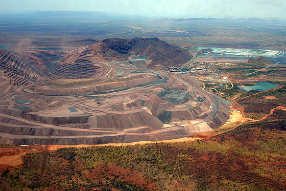 SHOWCASE MINE OF THE WEEK - ARGYLE DIAMOND MINE!!