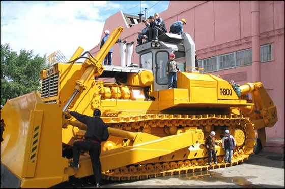 WORLD'S TOP 10 BULLDOZERS - CHTZ T-800!!
