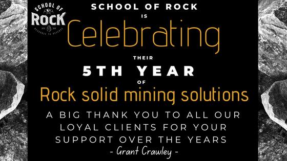 SCHOOL OF ROCK FINALLY TURNS 5!!