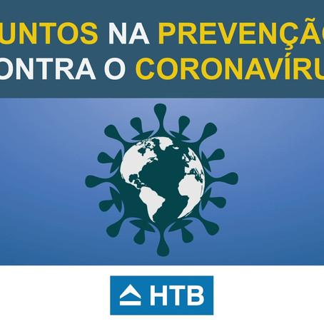 Medidas do Grupo HTB para o combate ao Coronavírus