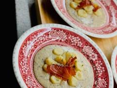 Trufflu Fontina Cream with Gnocchi