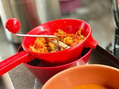 Osteria event our tomato sauce for Parmi