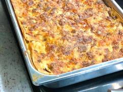 Our Rich Lasagna Bolognese