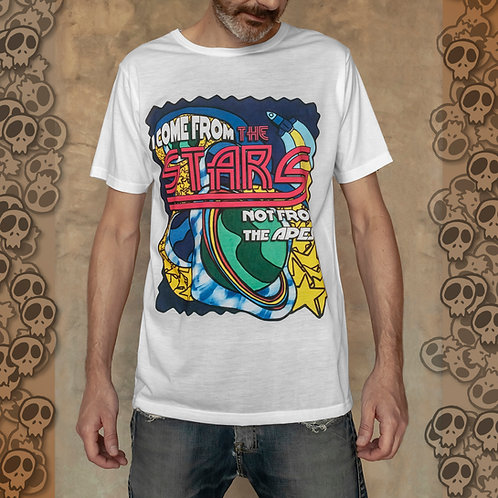 I Come From The Stars T-Shirt sublimation print