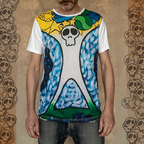 Interaction between Earth and Universe T-Shirt sublimation print