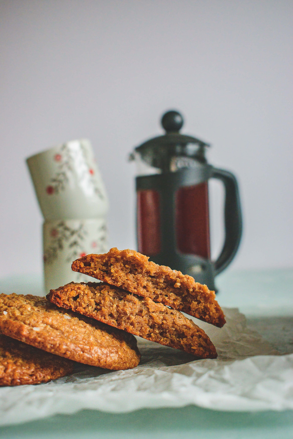 Salted Peanut Butter, Banana and Cornflake Cookies