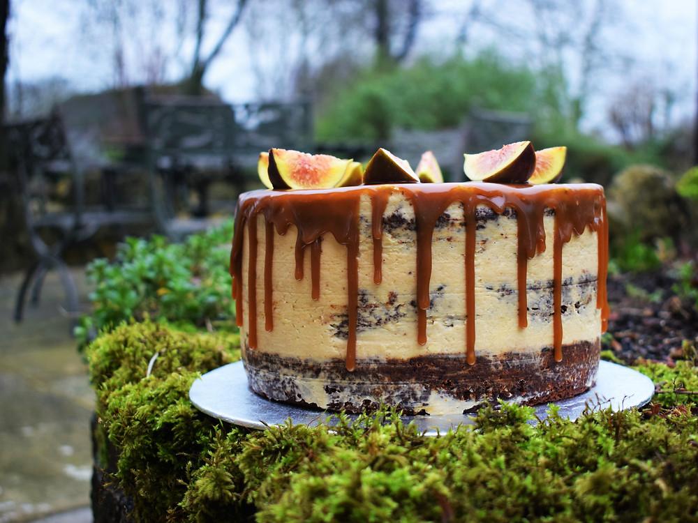 Sticky Toffee Drip Cake