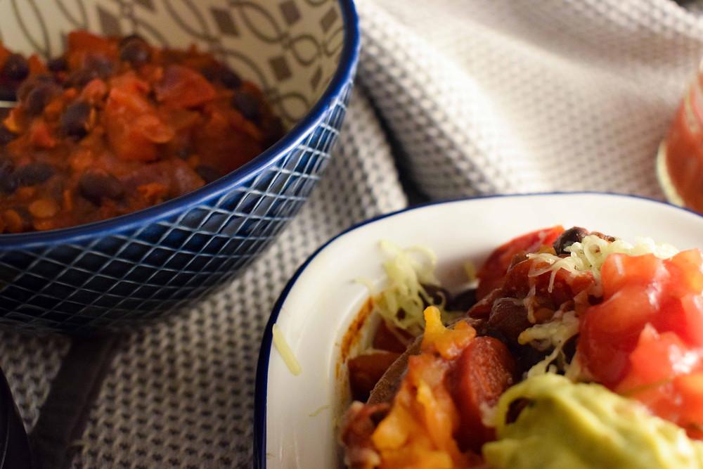 Black Bean (& Chorizo) Chilli