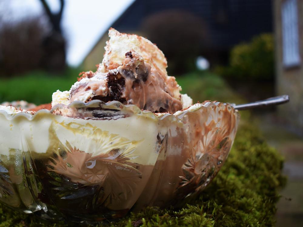 Toffee Brownie Trifle (Gluten Free)