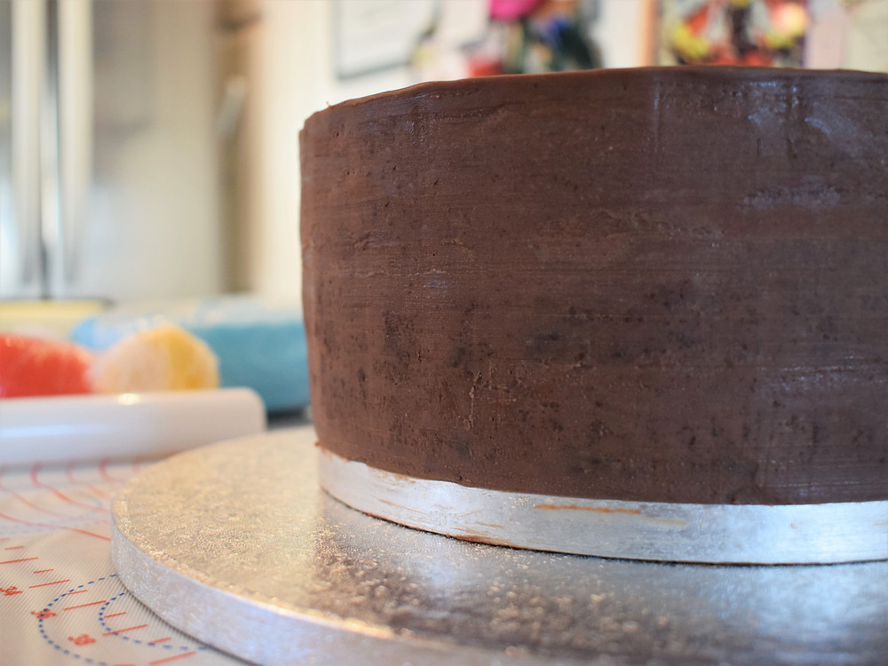 Chocolate Mud Cake with Dark Chocolate Ganache