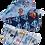 Thumbnail: Lingettes lavables de flanelle Pqt 2 unit