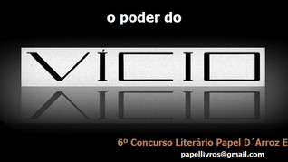 6º Concurso literário da Papel D'Arroz Editora - 3º Classificado