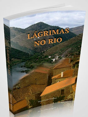 Capa do romance Lágrimas no Rio