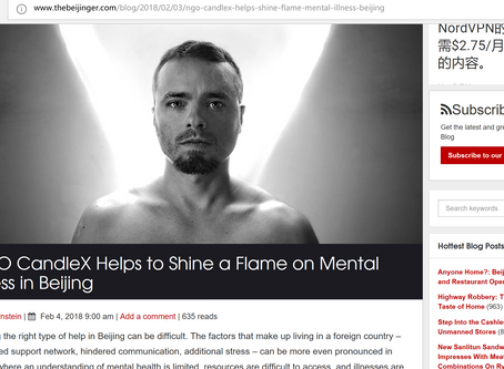 CandleX Mental health Peer Support Group 2 years| TheBeijinger Interview