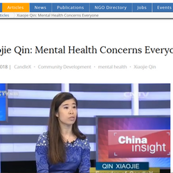 Xiaojie on China Development Brief   Interview Review