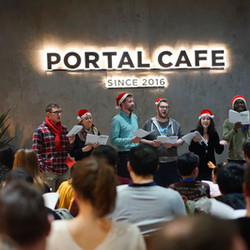 Event review | CandleX Carol by Candlelight at Portal Café