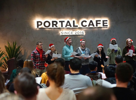 Event review | Carol by Candlelight at Portal Cafe