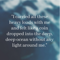 """""""A Coin dropped in the Ocean""""   Community Writing   Lily's Story"""
