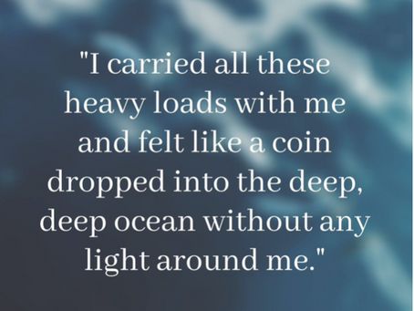 """""""A Coin dropped in the Ocean"""" 