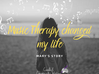 Community Writing | Music can release people from their traumas | Mary's Story