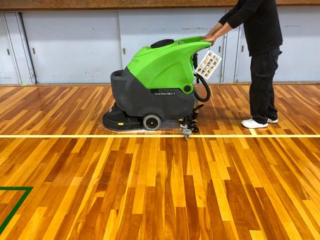 自動床洗浄機の実力