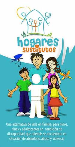 PLEGABLE HOGARES SUTITUTOS