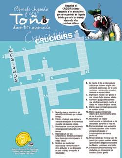 TOÑO CRUCIGRAMA