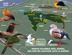 REMOTE COLOMBIA MITU, INIRIDA, SAN JOSE DEL GUAVIARE HATO LA AURORA,